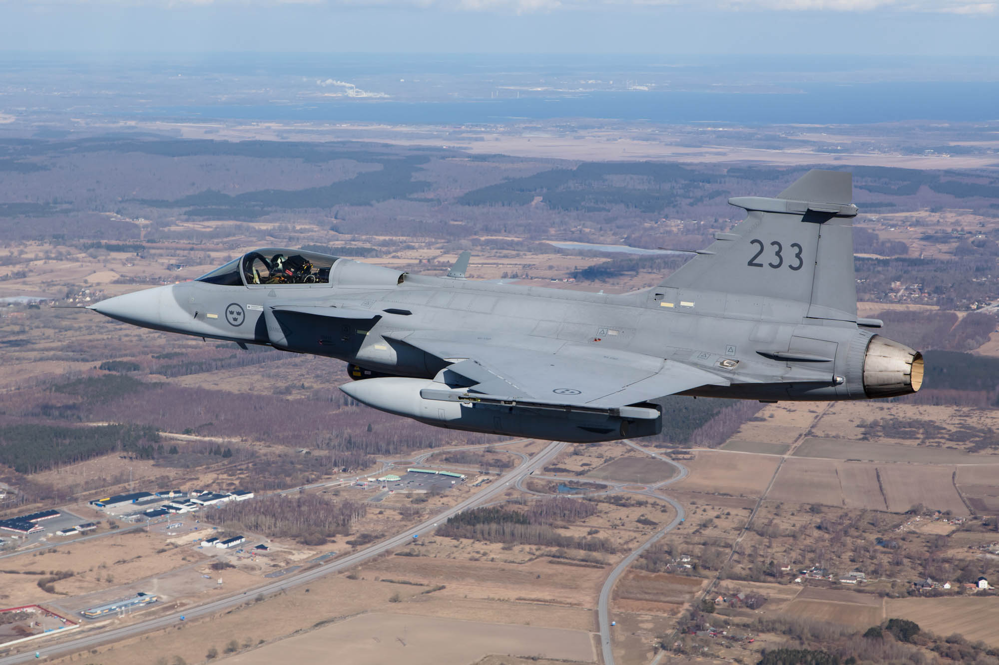 Swedish Air Force (Flygvapnet), Gripen air to air
