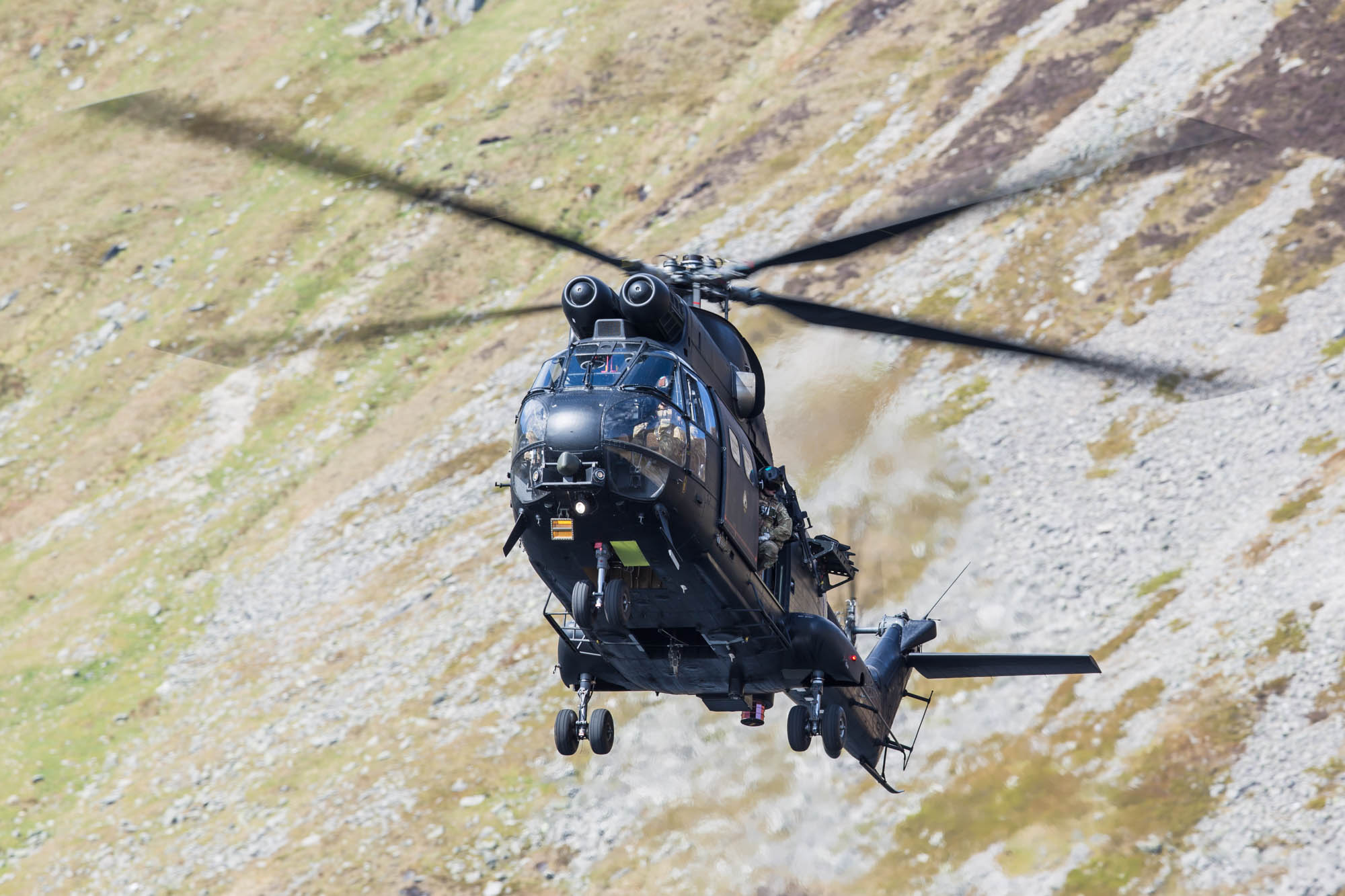 Snowdonia Rotary Mountain Flying Training Area