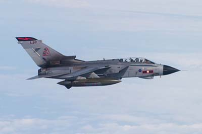 Tornado GR4 Air to Air photography