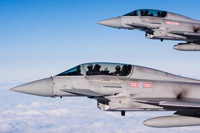 Typhoon Air to Air photography