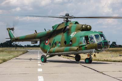 Bulgarian Air Force AS.532 Cougars