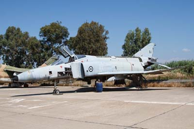 Hellenic Air Force Andravida relics