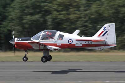 Scottish Aviation Bulldog air to air