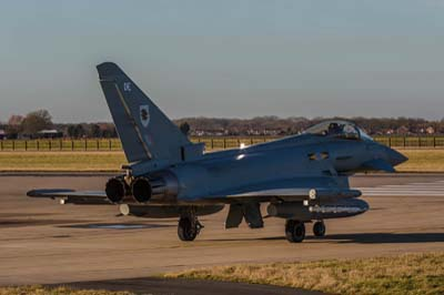 Aviation Photography RAF Coningsby Typhoon
