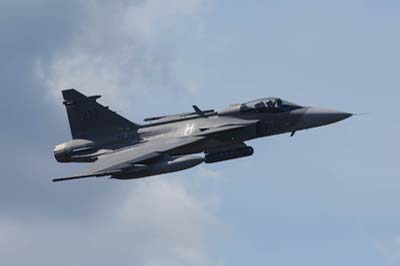 Ronneby Swedish Air Force Gripen