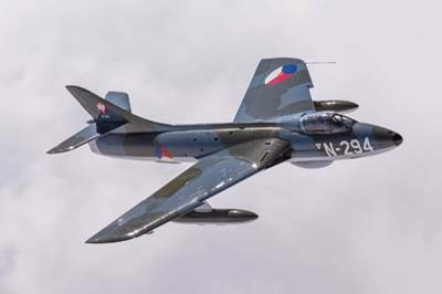 Hawker Hunter F.6A Air to Air