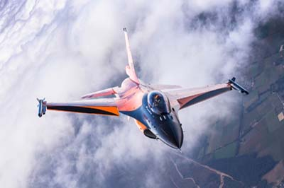 Royal Netherlands Air Force F-16 Demo Team