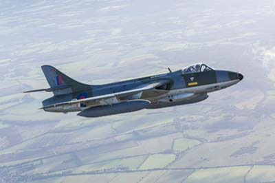 Hawker Hunter F.58 Air to Air