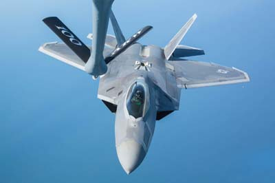 F-22A Raptor Air to Air